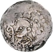 1 Pfennig - Burkhard II. – obverse