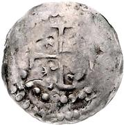 1 Pfennig - Burkhard II. – reverse