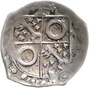 1 Pfennig - Theoderich II. von Plettendorf (Schüsselpfennig) – obverse