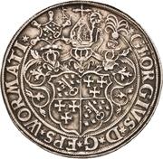 2 Thaler - Georg von Schönenberg (Neu-Leiningen) – obverse