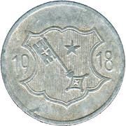 10 Pfennig - Worms – reverse