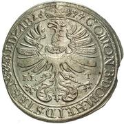 15 Kreuzer - Sylvius Friedrich – reverse