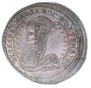 1 Thaler - Sylvius Friedrich (Death of Elisabeth Maris) – obverse