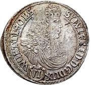 6 Kreuzer - Sylvius Friedrich – obverse