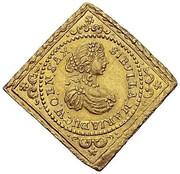 ½ Ducat - Christian Ulrich von Bernstadt (Klippe) – obverse