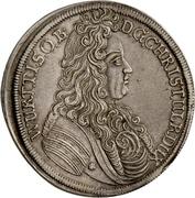1 Thaler - Christian Ulrich von Bernstadt – obverse