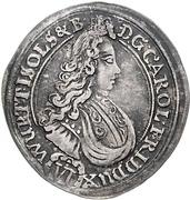 6 Kreuzer - Karl Friedrich von Bernstadt – obverse