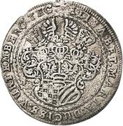 ¼ Thaler - Sylvius Friedrich (Death) – obverse