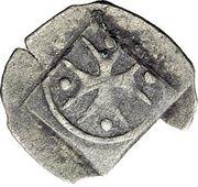 1 Heller - Graf Eberhard III. der Milde – reverse
