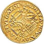 1 Goldgulden - Karl V. (Habsburg occupation) -  obverse