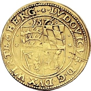 1 Goldgulden - Ludwig the Pious -  obverse