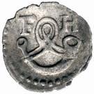 1 Pfennig - Friedrich I. – obverse