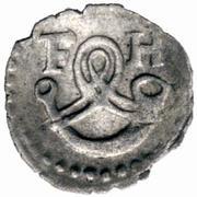 1 Pfennig - Friedrich I. -  reverse
