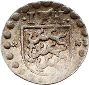 1 Pfennig - Johann Friedrich I. (Schüsselpfennig) – obverse