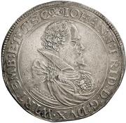 1 Thaler - Johann Friedrich I. -  obverse