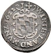 1 Doppelschilling - Johann Friedrich (Kipper) – reverse