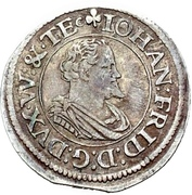1/9 Thaler - Johann Friedrich I. – obverse