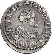 ⅙ Thaler - Johann Friedrich I. – obverse