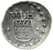 1 Pfennig - Wilhelm Ludwig – obverse