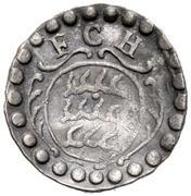 1 Pfennig - Friedrich Karl -  obverse