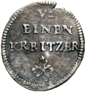 1 Heller - Friedrich Karl -  reverse