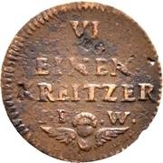 1 Heller - Friedrich Karl – reverse