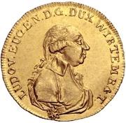 1 Ducat - Ludwig Eugen – obverse