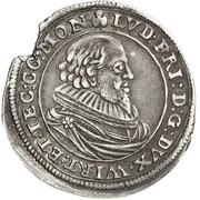 ⅙ Thaler - Ludwig Friedrich von Mömpelgard – obverse