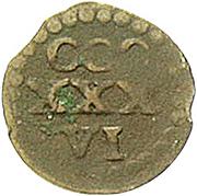 1 Heller - Johann Friedrich I. (Kipper) – reverse