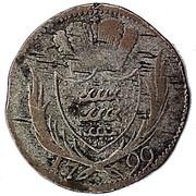 3 Kreuzer - Friedrich II – reverse