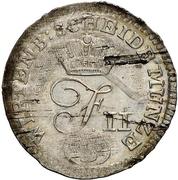 3 Kreuzer - Friedrich II – obverse