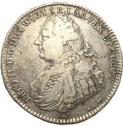 ½ Thaler - Friedrich II. – obverse