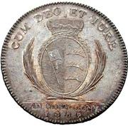1 Thaler - Friedrich II. (Konventionskurfüstentaler) – reverse
