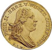 1 Ducat - Friedrich II. (Mint visit) -  obverse