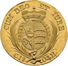 1 Ducat - Friedrich II. – reverse