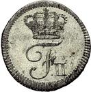 1 Kreuzer - Friedrich II. – obverse