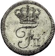 1 Kreuzer - Friedrich II. -  obverse