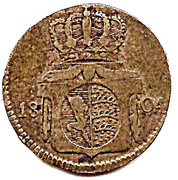 6 Kreuzer - Friedrich II. -  reverse