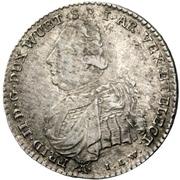 10 Kreuzer -  Friedrich II – obverse