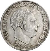 20 Kreuzer - Wilhelm I. – obverse