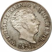 24 Kreuzer - Wilhelm I. – obverse