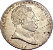 1 Thaler - Friedrich I. – obverse