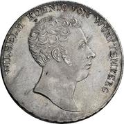 1 Thaler - Wilhelm I. (Konventionstaler) – obverse