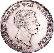 1 Thaler - Wilhelm I. (Kronentaler; Customs Union) – obverse