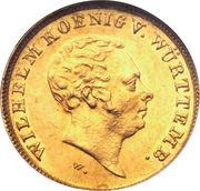 5 Gulden - Wilhelm I. – obverse