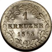 1 Kreuzer - Wilhelm I. – reverse
