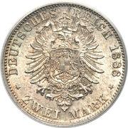 2 Mark - Karl I. – reverse