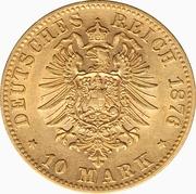 10 Mark - Karl I. – reverse