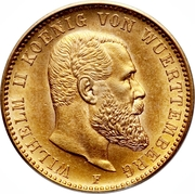 20 Mark - Wilhelm II. -  obverse