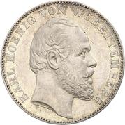 1 Vereinsthaler - Karl I. – obverse
